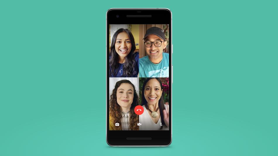 WhatsApp zahajuje skupinové video hovory