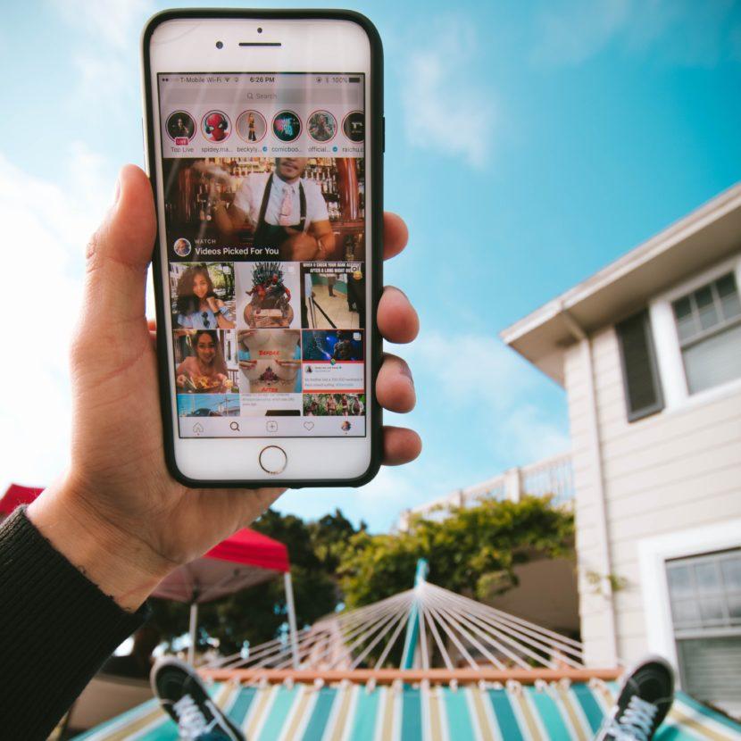 Jak udělat swipe up na Instagramu bez 10k followers